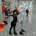 Yuri!!! On ICE cosplayers kids
