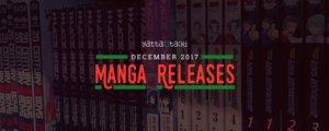 December 2017 Manga Releases