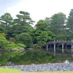 Kyoto Imperial Palace Oikeniwa Garden