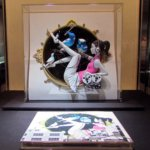 Yusuke Nakamura exhibit - 3D figure of the cover of Asian Kung-Fu Generation's album Sol-fa