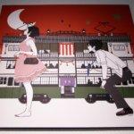 Yusuke Nakamura - Art for the novel Night is Short, Walk on, Girl.