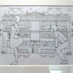 Yusuke Nakamura - Sketch for the novel Night is Short, Walk on, Girl