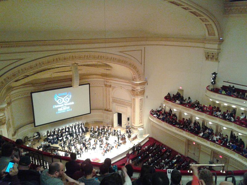 Audience at Distant Worlds NY, Jan 2018