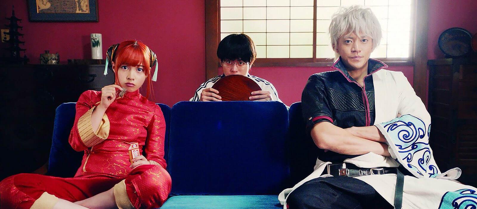 Yorozuya cast in Gintama live-action