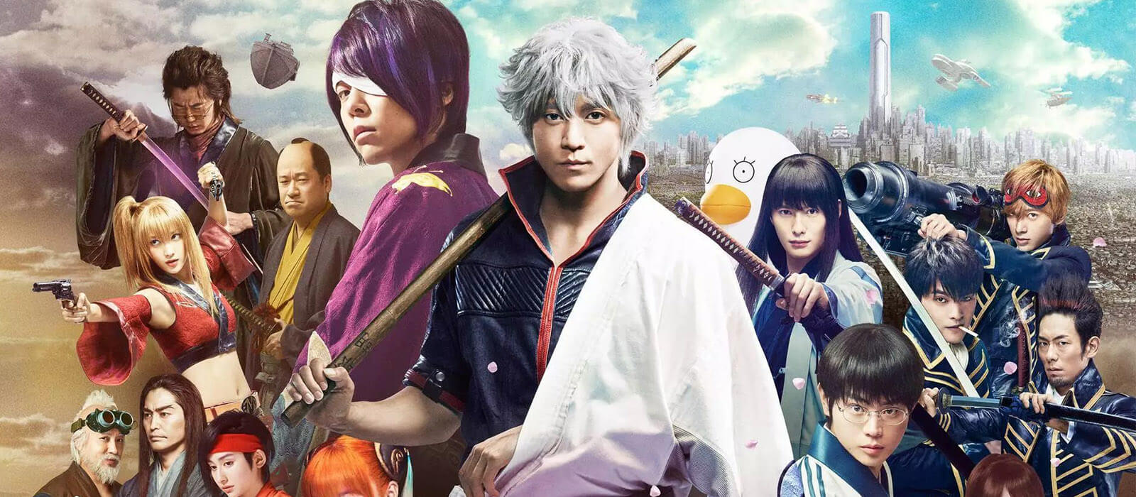 Promo poster for Gintama live-action
