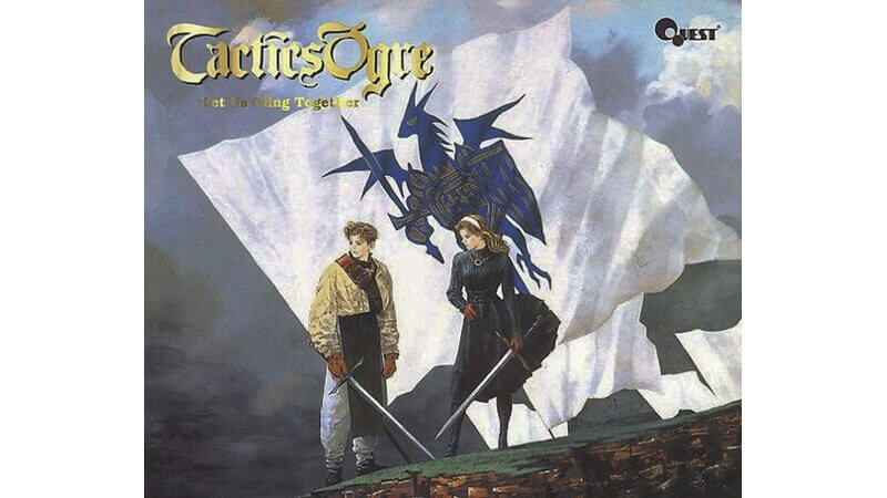 Tactics Ogre's game cover