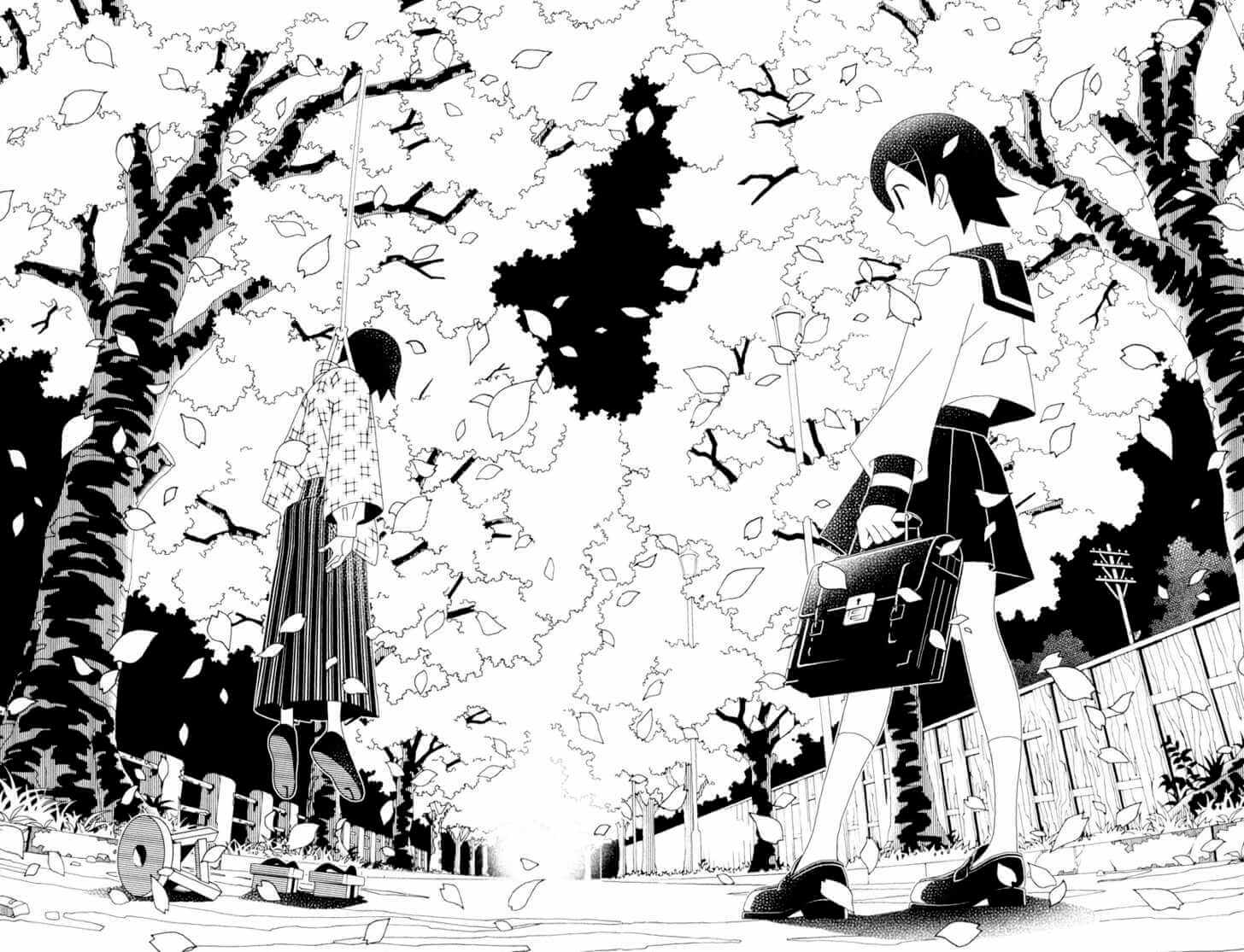 Sayonara Zetsubou Sensei - one of many manga greatly inspired by Ningen Shikkaku