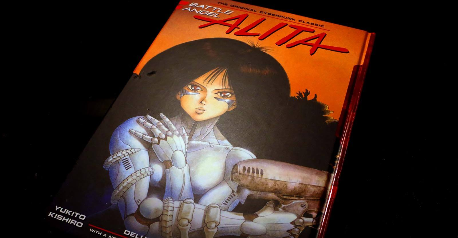 Battle Angel Alita Vol 1 Book Cover