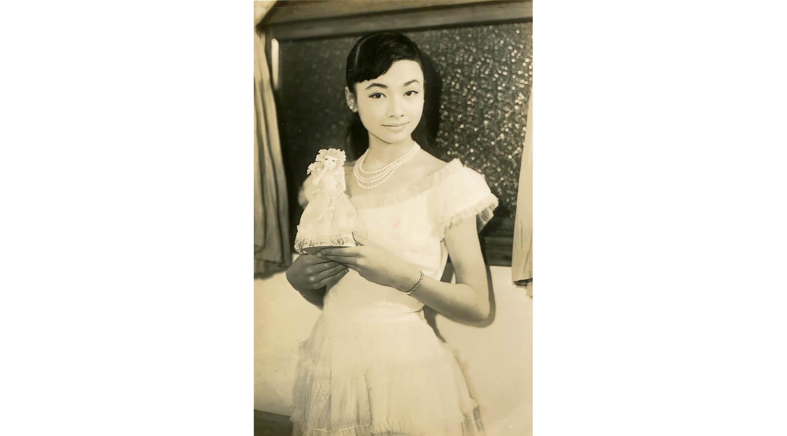 Portrait of the singer Izumi Yukimura (1950s)