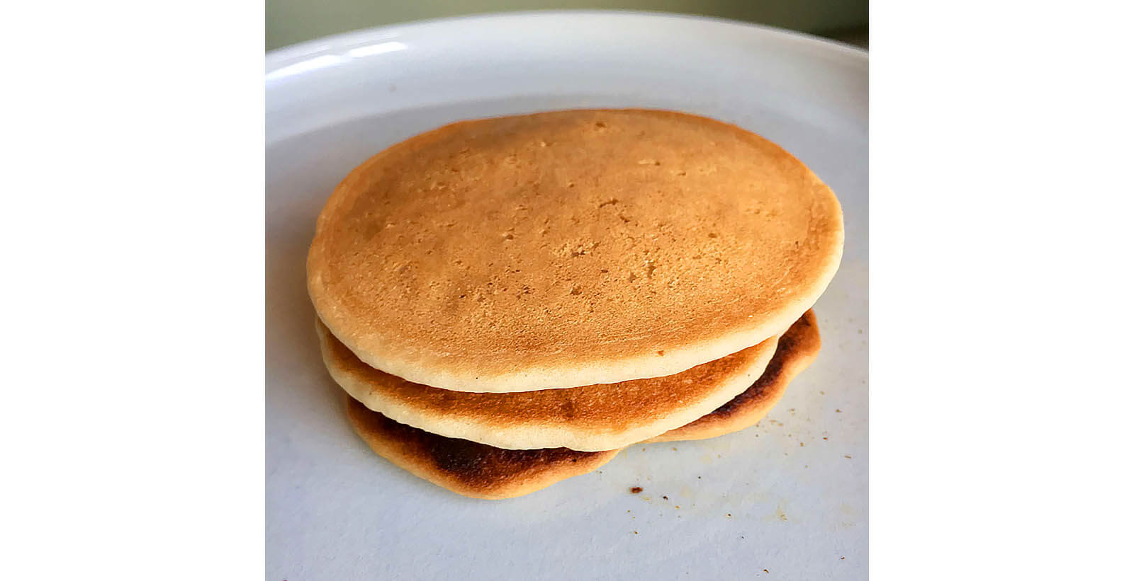Fluffy hotcakes without using a mold