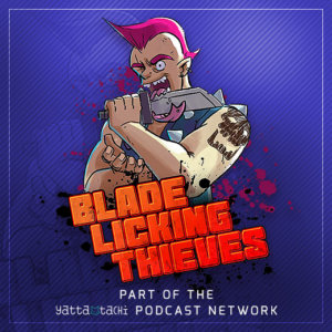 Blade-Licking Thieves Album Cover