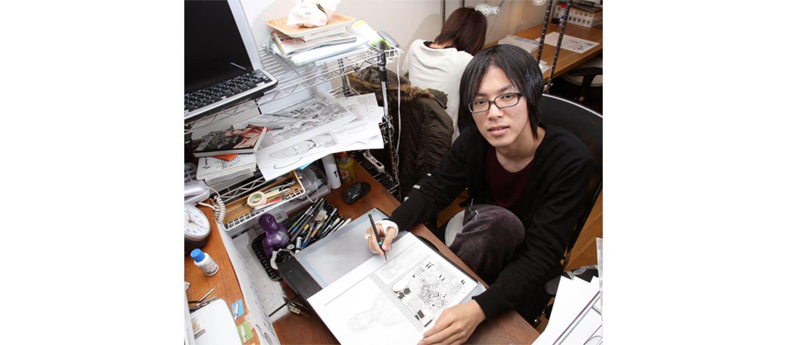 Attack On Titan mangaka - Isayama Hajime