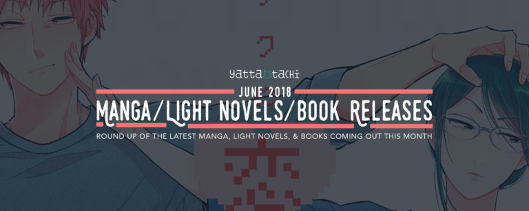 June 2018 Manga/Light Novel/Book Releases