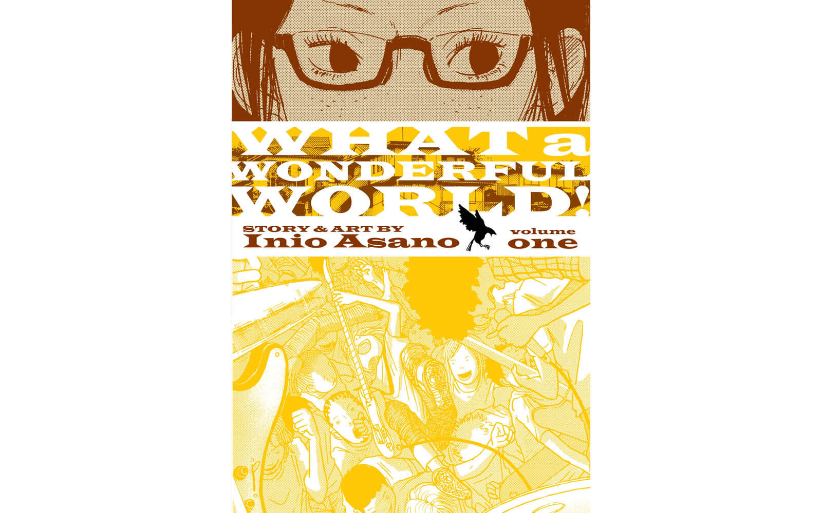 What a Wonderful World manga cover