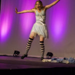 Alice in Wonderland dance skit