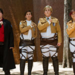 "Commander Erwin and the Survey Corps from ""Attack on Titan"""