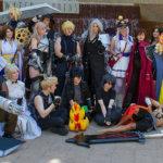 "A collection of characters from the ""Final Fantasy"" series | Rikku - Instagram: @raecheveyc | Left Cloud and Lightning - Instagram: @Bestof3cosplay | Right Cloud - Instagram: @jordiehatespickingnames"