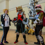 "Denki, Bakugo, and Spinner from ""My Hero Academia"""