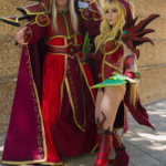"""Lor'themar Theron and Valeera Sanguinar from """"World of Warcraft"""""""