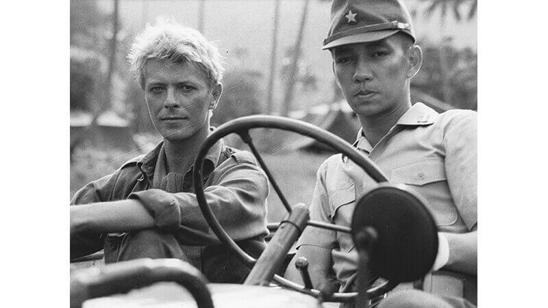 Ryuichi Sakamoto and David Bowie