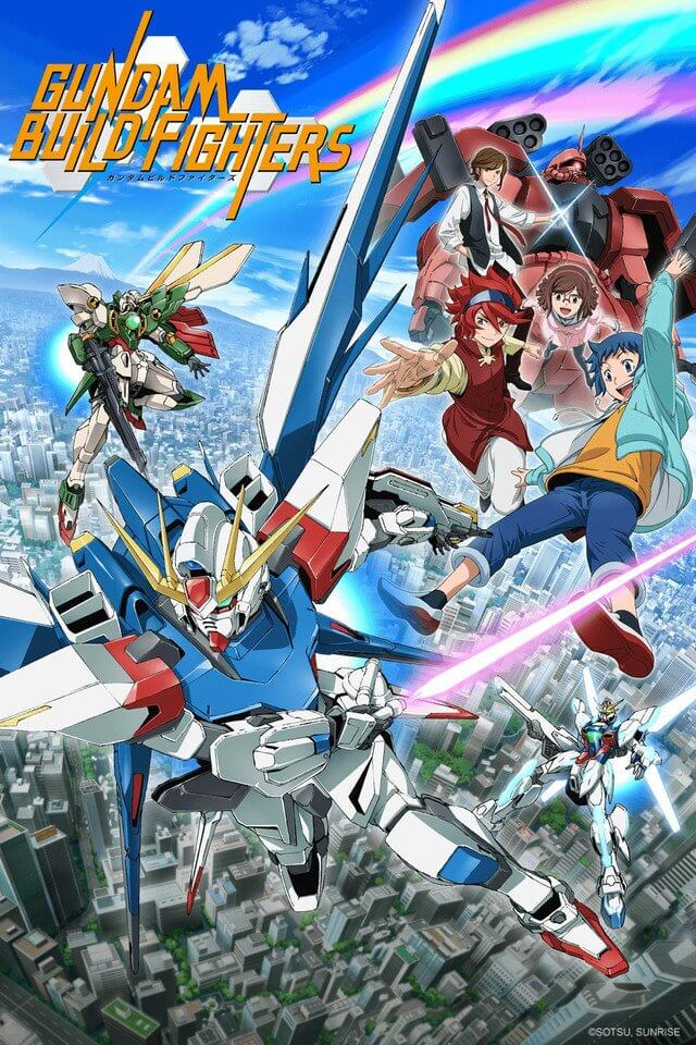 Gundam Build Fighters poster