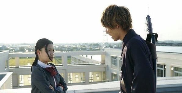 Ichigo and Rukia daytime scene in Bleach