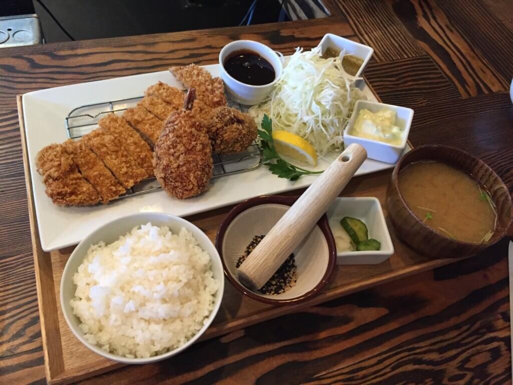 Raisu's tonkatsu