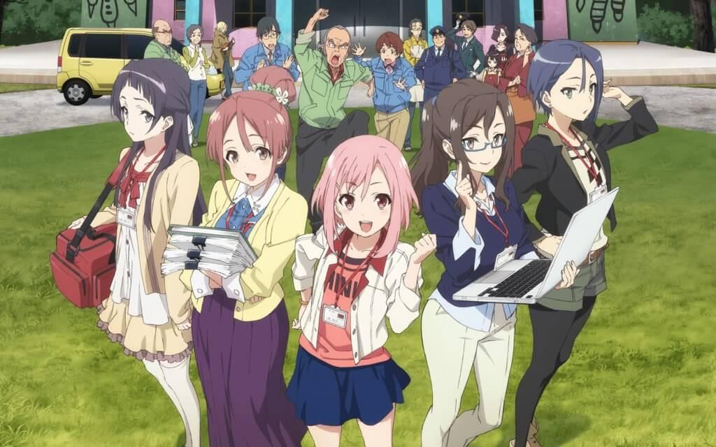 Sakura Quest Characters