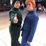 Yusuke & Kuwabara from Yu Yu Hakusho - Instagram: @twingenuitycosplay