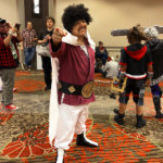 Anime Fest 2018 - Mr. Satan from Dragon Ball Z