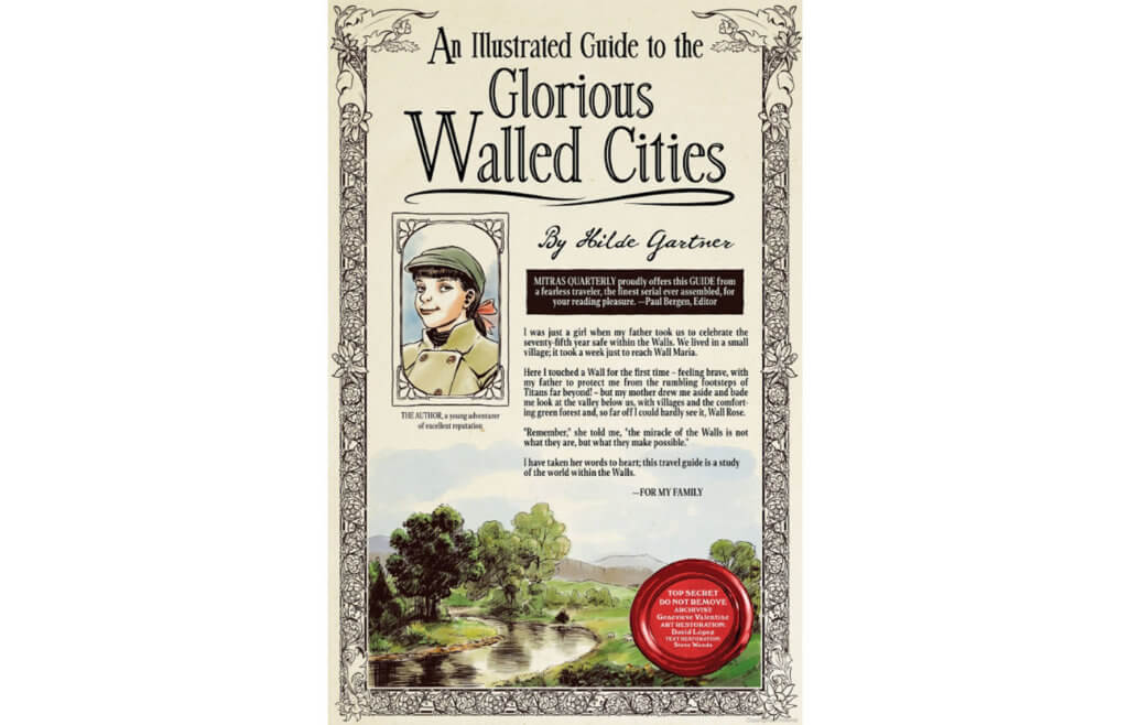 An Illustrated Guide to the Glorious Walled Cities cover
