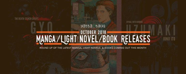October 2018 Manga / Light Novel / Book Releases