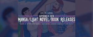 September 2018 Manga / Light Novel / Book Releases