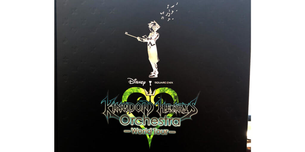 Kingdom Hearts Orchestra -World Tour- Program Cover