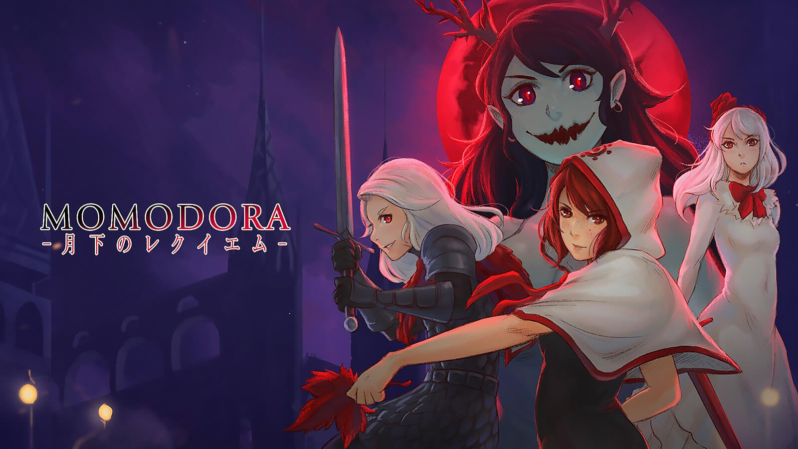 Momodora: Reverie Under the Moonlight promo art for PS4 version