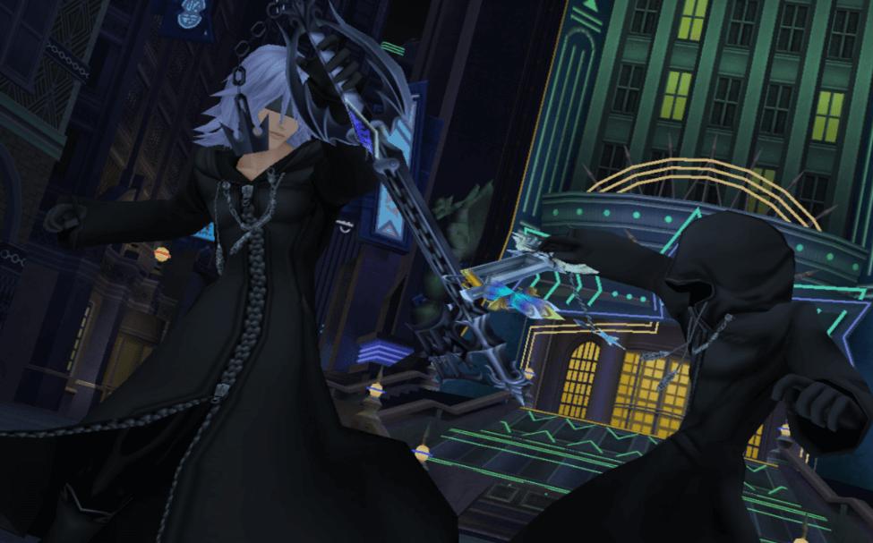 Riku vs Roxas, Kingdom Hearts 358/2 Days