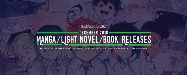 December 2018 Manga / Light Novels / Book Releases