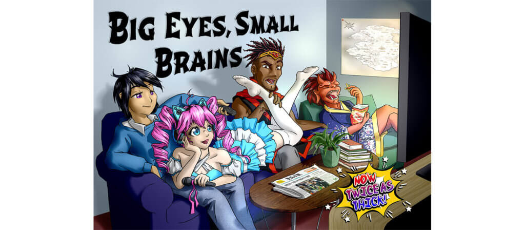 Big Eyes, Small Brains Tabletop Artwork