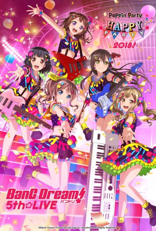 BANG DREAM! 6TH CONCERT: LET'S GO POPPIN' PARTY!