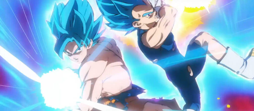 Goku and Vegeta teaming up