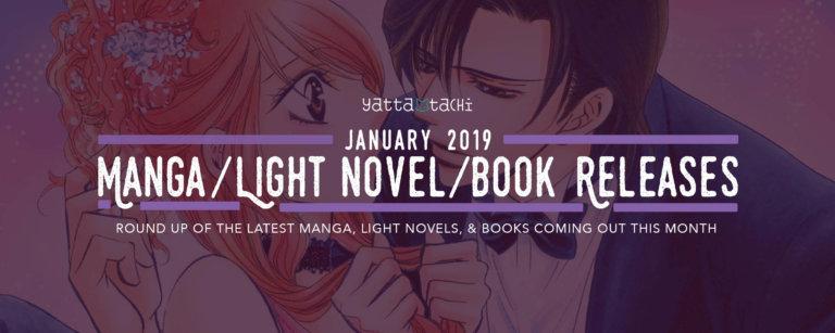 January 2019 Manga / Light Novels / Books Releases