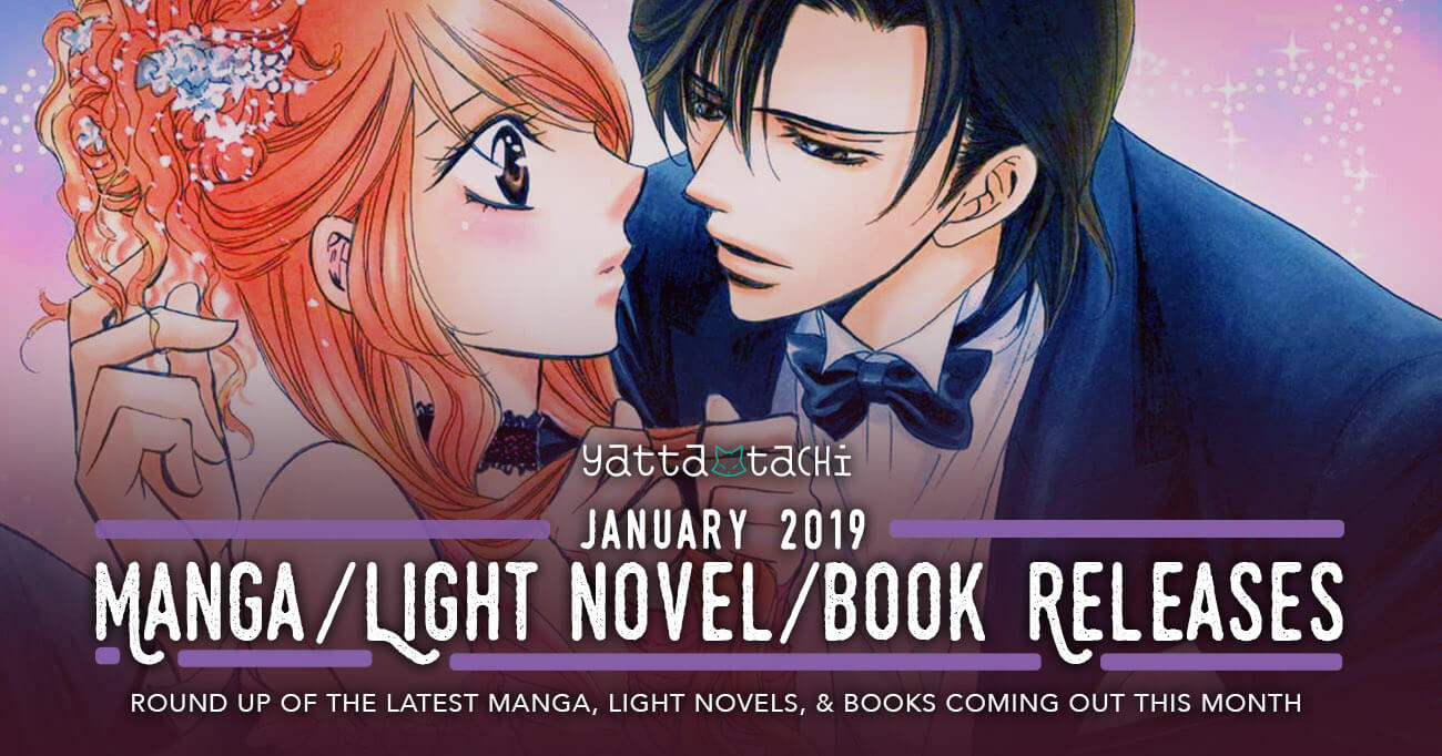 January 2019 Manga / Light Novel / Book Releases » Yatta-Tachi