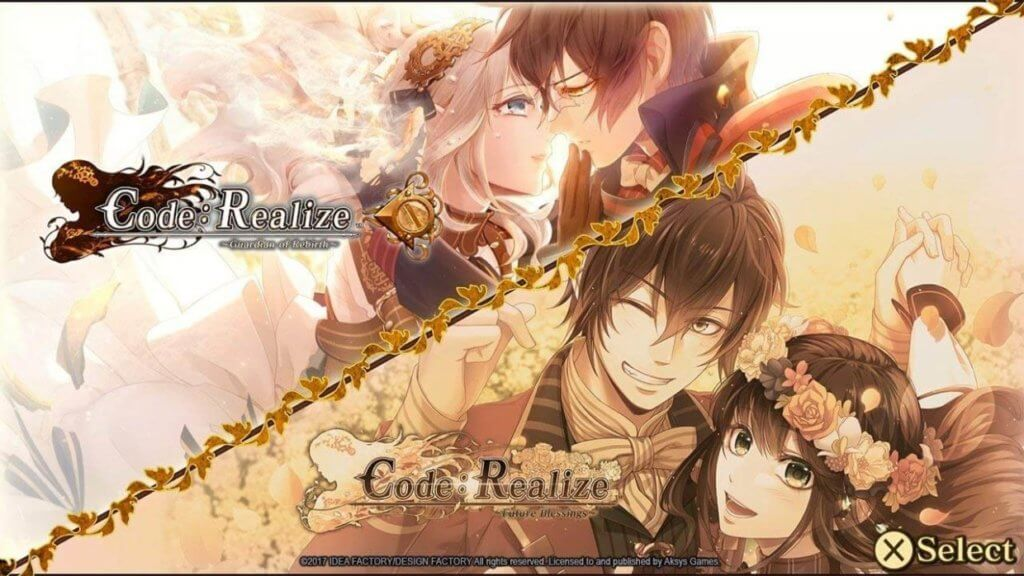 Artwork for Code: Realize featuring Cardia and Lupin