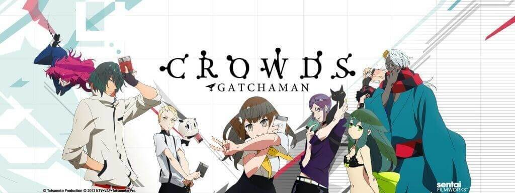 Gatchaman Crowds Characters
