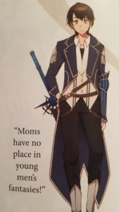 """The character of Masato from """"Do You Love Your Mom and Her Two-Hit Multi-Target Attacks?"""""""