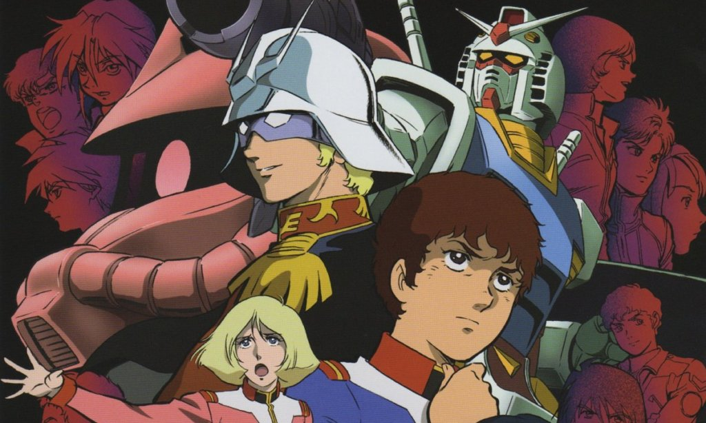 "A screenshot of character from ""Mobile Suit Gundam"""