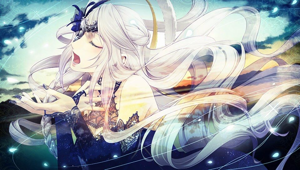 "A screenshot of Cantarella from ""Code: Realize ~Wintertide Miracles~"""