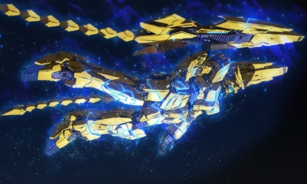 A screenshot of the Phenex Gundam