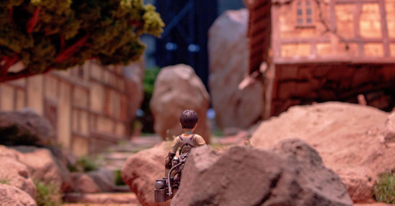 Attack on Titan figure showcase