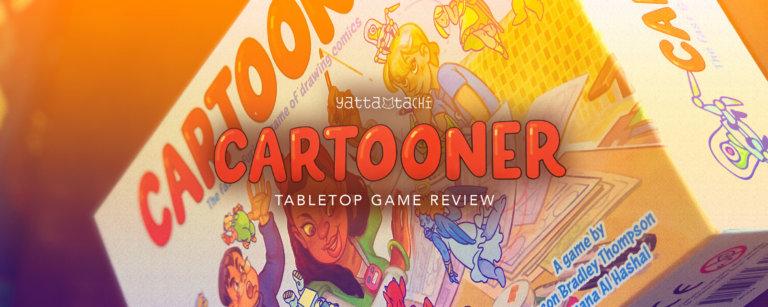 Cartooner Tabletop Game Review